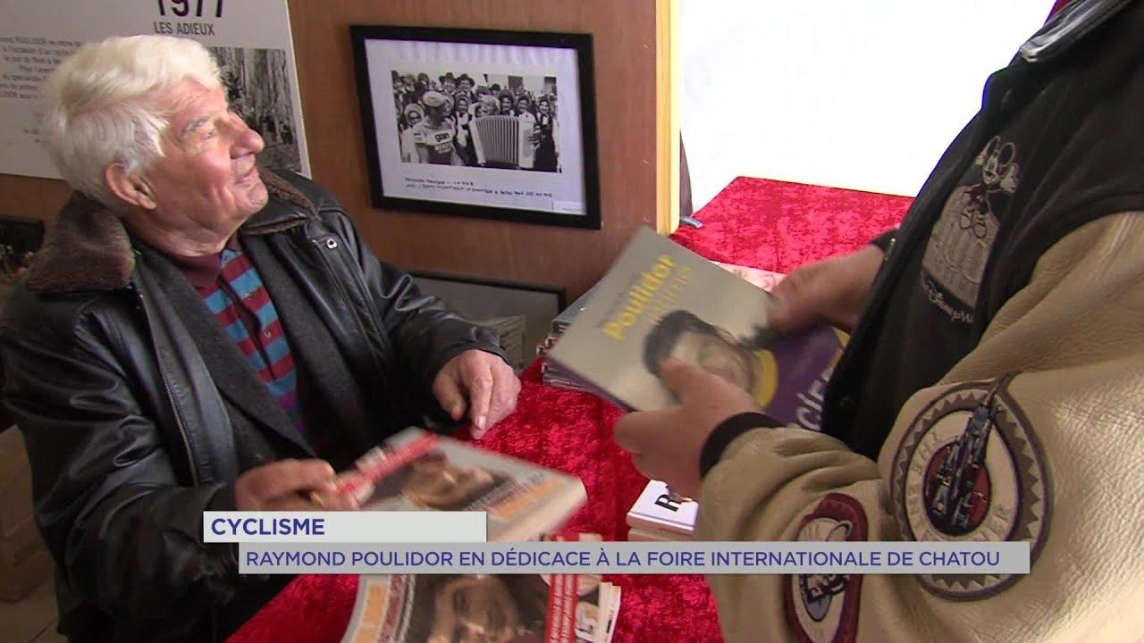 Yvelines | Cyclisme : Raymond Poulidor en dédicace à la foire internationale de Chatou