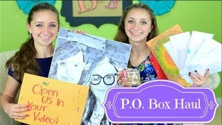 P.O. Box Haul | Brooklyn and Bailey Thumbnail
