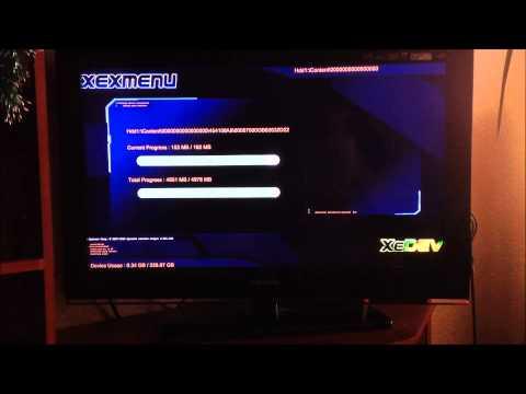 Копирование GOD игр xbox360