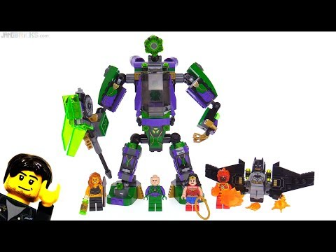LEGO DC Super Heroes Lex Luthor Mech Takedown review 💥 76097