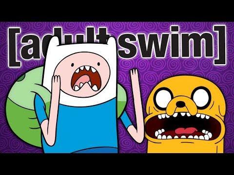Adventure Time Leaves Adult Swim