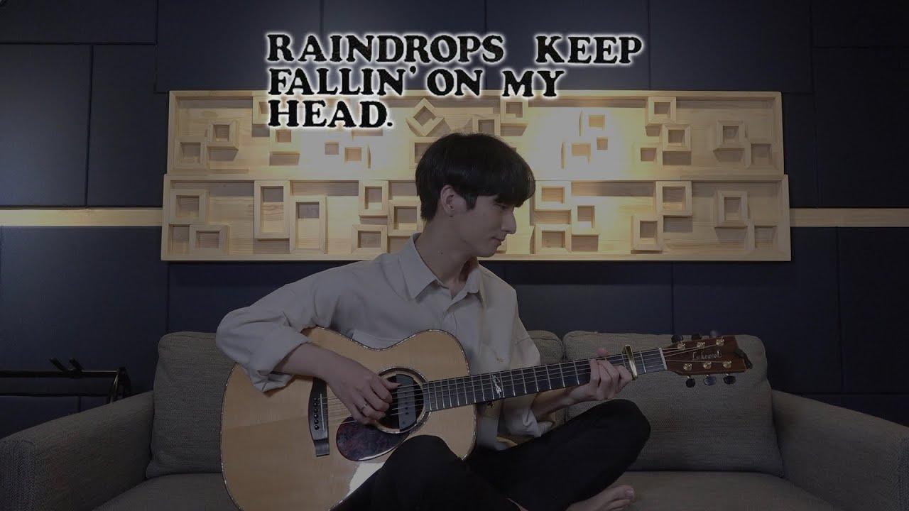(B.J.Thomas) Raindrops Keep Falling On My Head - Sungha Jung
