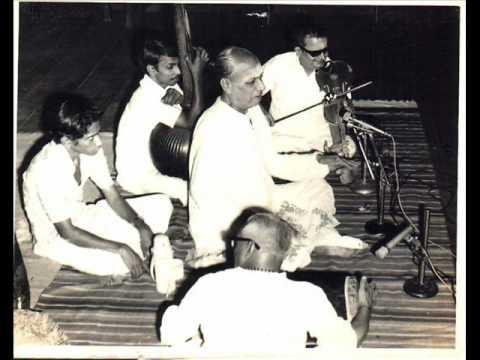 Viriboni Bhairavi Varnam 1: MD Ramanathan