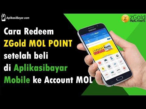Cara Redeem ZGold MOL Point Setelah Beli Di Aplikasibayar Mobile Ke Account MOL