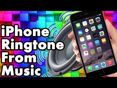 Make Song an iPhone Ringtone From Your Own Music With iTunes