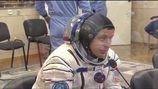 ISS Expedition 51/52 Soyuz MS-04 Pre launch Activities