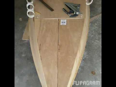 Boat build slideshow 12 foot skiff