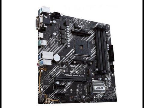 Материнська плата Asus Prime B550M-K (sAM4, AMD B550, PCI-Ex16)