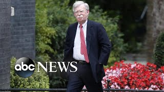 Trump, Bolton differ on national security adviser's exit l ABC News