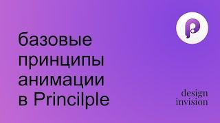 Principle. Базовые принципы анимации.