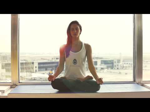 Airport Yoga – Frankfurt Airport