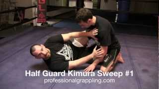 PGL Professional Grappling League – Instructional with Rob Mudrak – Half Guard Kimura Sweep #1