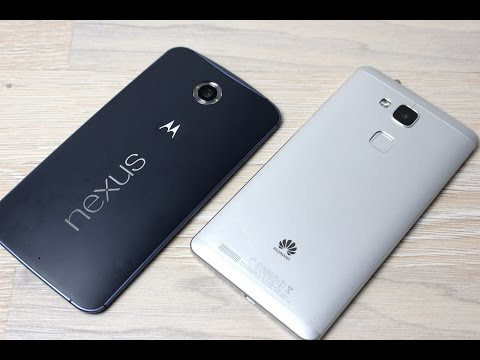 Nexus 6 vs. Huawei Ascend Mate 7 im Vergleich (Deutsch)   InstantMobile