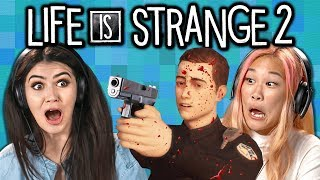 STRANGER THINGS AFOOT! | Teens & College Kids Play Life is Strange 2