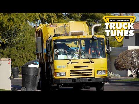 Garbage Truck - Trucks Music Video for Children