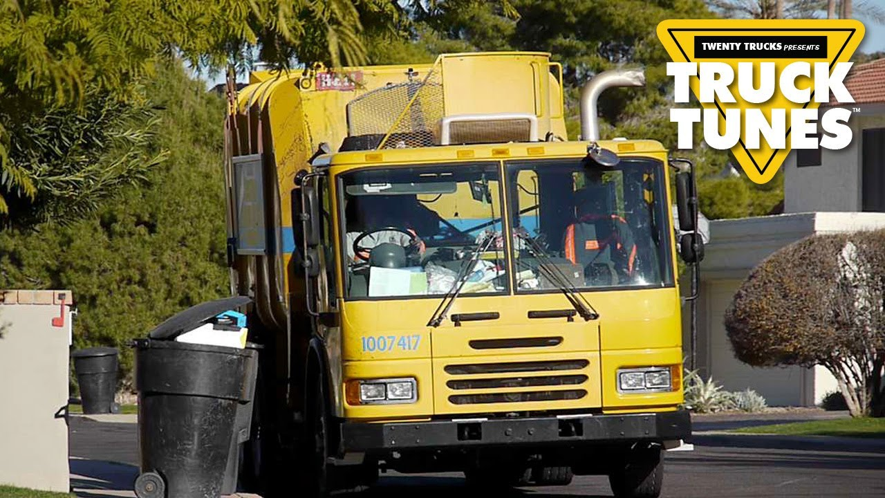 Trash Duty For Students With Special >> Kids Truck Video Garbage Truck Youtube