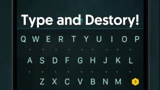 Practise Typing, Spelling... and Shooting! Introducing ZType