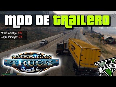 GTA V Mods - American truck Simulator en GTA! | GTA V Truckin Mod