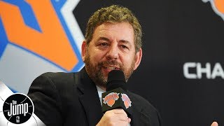 James Dolan's ownership is 'bad news' for Knicks fans - Byron Scott | The Jump