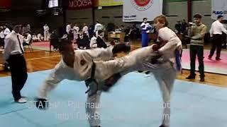 Таеквондо, таэквондо 2009, taekwondo itf, чемпионат, видео 05(taekwondo ITF (тхэквондо), Чемпионат Москвы по тхэквондо ВФТ (Taekwondo ITF) 2009, мальчики \ начинающие.Таеквондо, таеквон-..., 2009-02-10T18:28:45.000Z)
