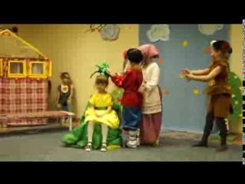 Детская сказка Репка  шоу из фото