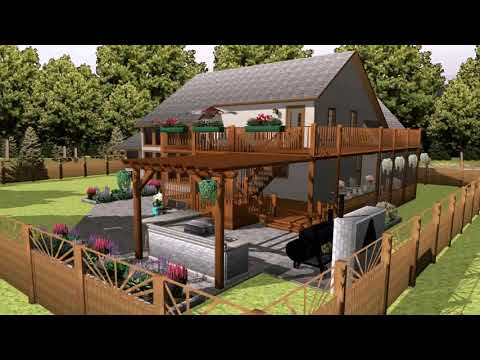 The 4 Minute 3d Landscape Plan With Uvision Youtube