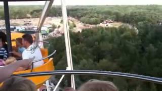 Zwarte Cross 2010 vanuit reuzenrad