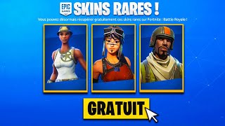 "(EXCLUDED) HAVE THE ""SKIN RARE"" FREE ON YOUR COMPTE ON FORTNITE!"