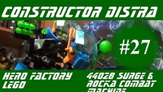 constructor Distra - Обзор LEGO Hero Factory 44027 Breez Flea Machine Build & Review