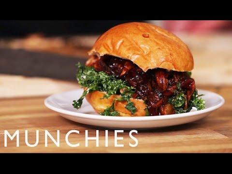 How to Make a Vegan Pulled BBQ Mushroom Sandwich