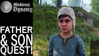 Father & Son Quest!   Medieval Dynasty Gameplay   EP 100