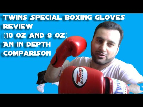 Twins Special 10 Oz & 8 Oz Boxing Gloves Review