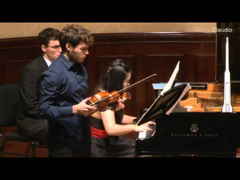 Hindemith - Sonata Op. 11/ no. 4 Timothy Ridout and Ke Ma