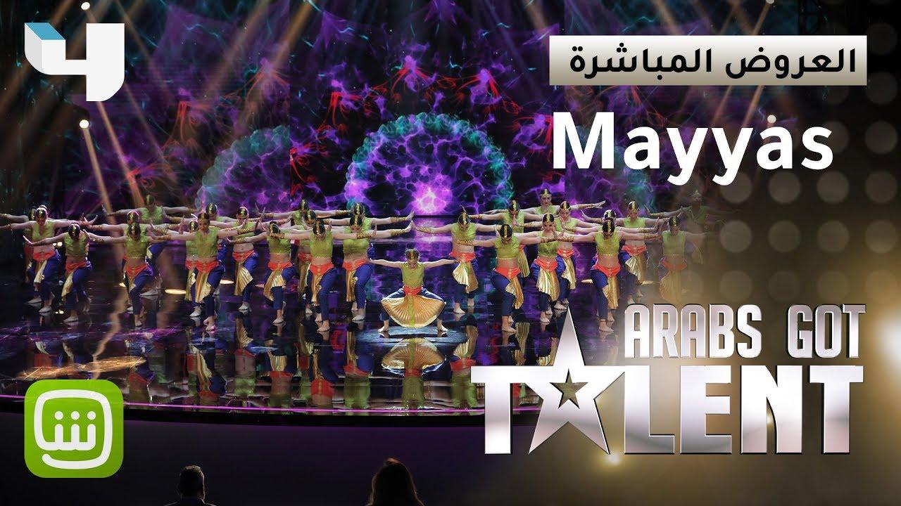 #ArabsGotTalent - Mayyas ينقل الحضور الى بوليوود برقصة أذهلت الجميع