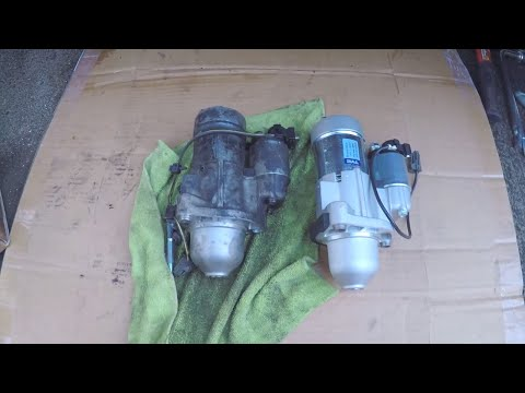 Infiniti G35 G37 – DIY Starter Replacement