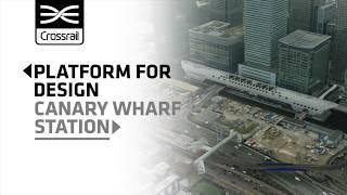 Platform for Design Canary Wharf station