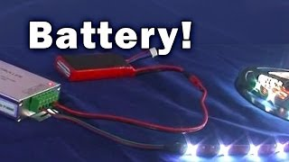 Battery Powered LED Light Strips SIRS-E
