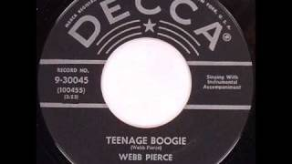 Webb Pierce - Teenage Boogie.wmv