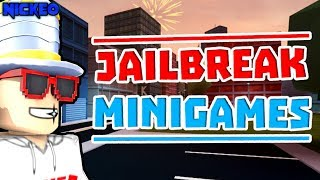 🔴 INSANE JAILBREAK MINIGAMES LIVE!! | SIMON SAYS / MORE!! | Roblox Jailbreak LIVE 🔴
