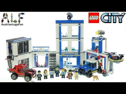 LEGO City 60246 Police Station - Lego Speed Build Review