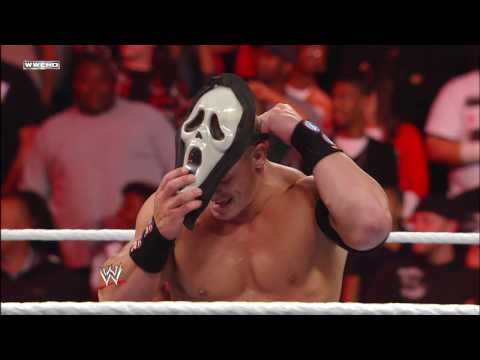 Thumbnail: A horror movie icon attacks John Cena: Raw, Oct. 31, 2011