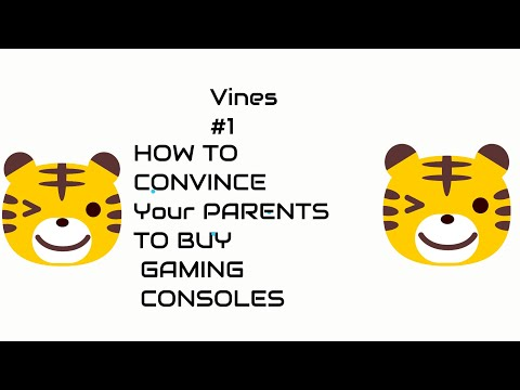 H'T CONVINCE TO BUY CONSOLE BY CONVINCING PARENTS VINES #1