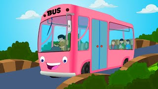 Wheels On The Bus | Kindergarten Nursery Rhymes For Children | Videos For Toddlers by Kids Tv