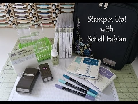 Stampin Up! - Mini Cards - Work of Art
