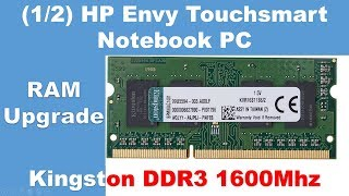1/2: Unboxing Kingston 8GB DDR3 1600Mhz PC12800 CL11 | RAM Upgrade