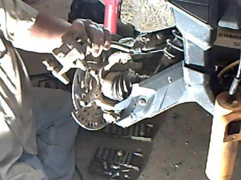 Yamaha Rhino Rear Brakes
