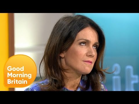 Susanna Calls Piers Out on Being 'Deliberately Obtuse'   Good Morning Britain