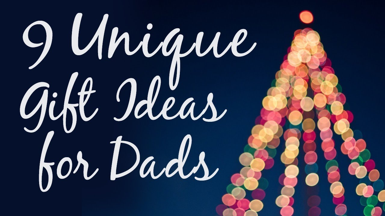 #giftideas #gifts #parents  sc 1 st  YouTube & 9 Unique Christmas Gift Ideas for Dad - YouTube
