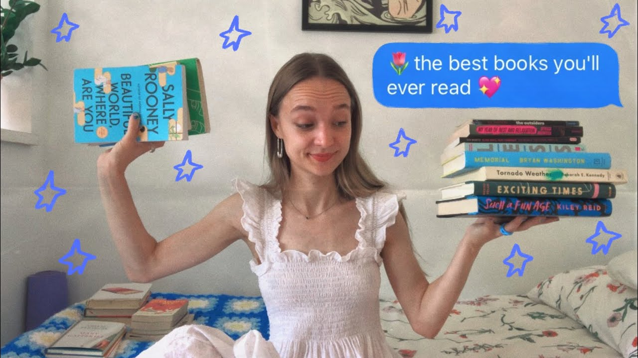 the best books i've ever read | easy to read, nonfiction, sally rooney, & MORE