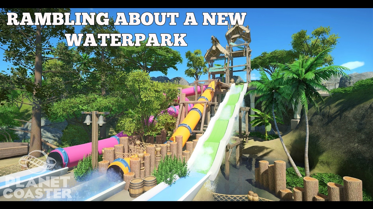 planet coaster how to make water